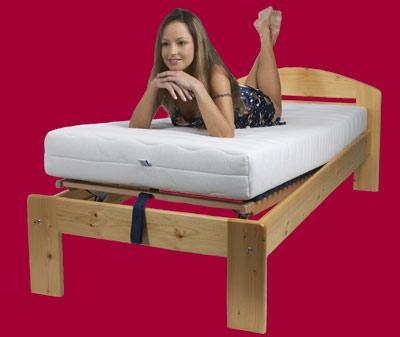 O spaní - postel